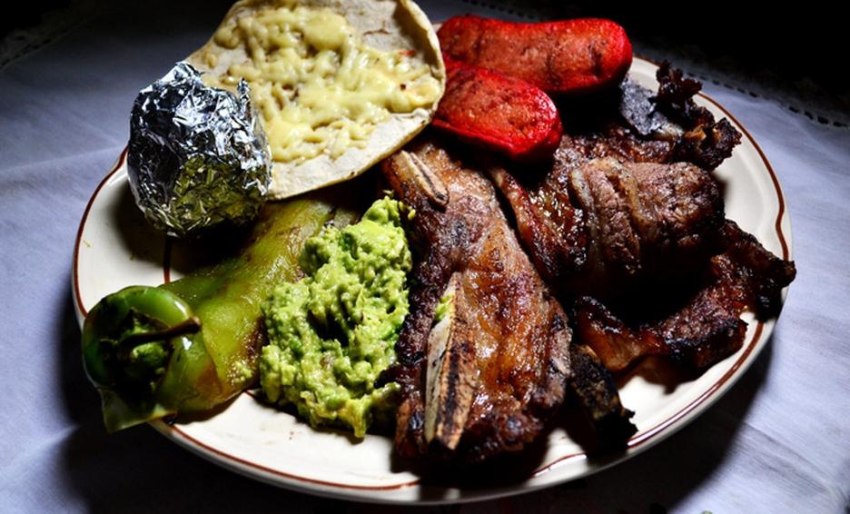 carne asada de monterrey en plato